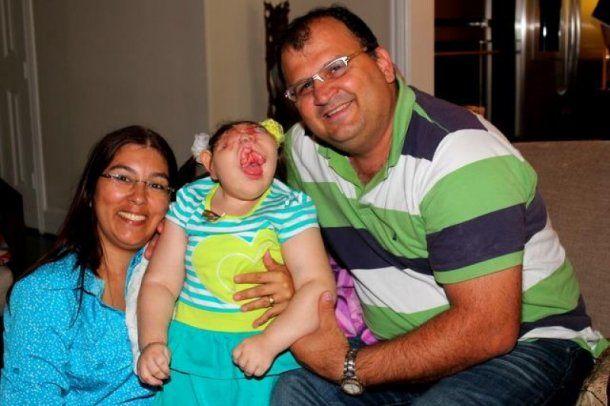 Los padres de Vitória lucharon por ella desde el primer día de su vida