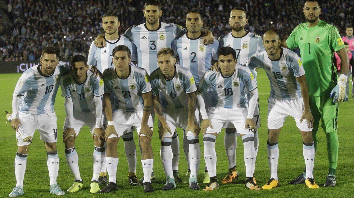 Así salió Argentina para jugar ante Uruguay en el Centenario