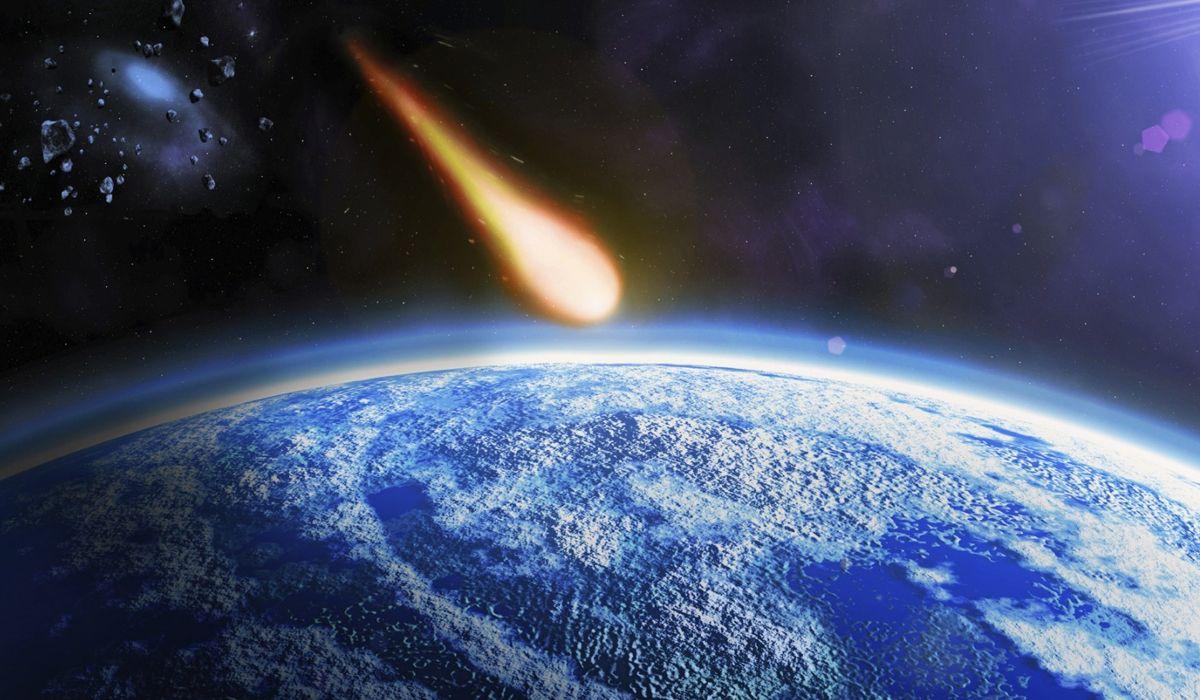 Resultado de imagen para asteroide tierra gif