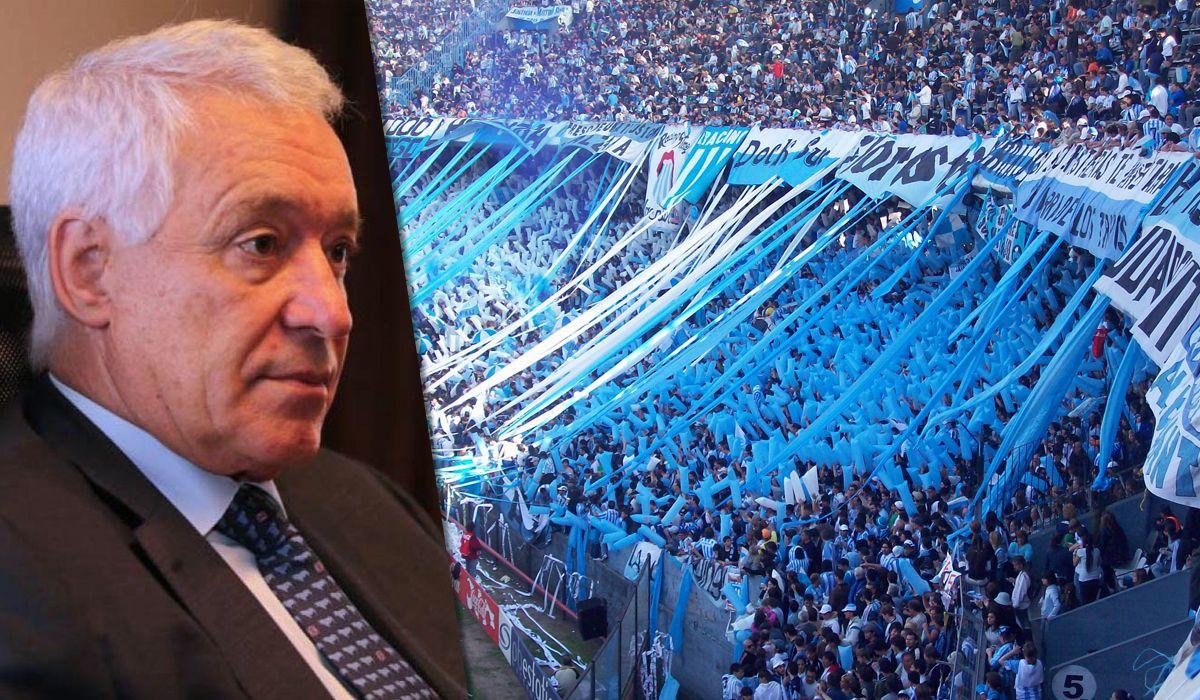Víctor Blanco se desliga y la interna de los barras tiene en vilo a Racing