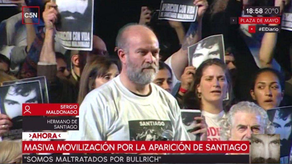 El hermano de Santiago Maldonado: Bullrich demostró no estar capacitada