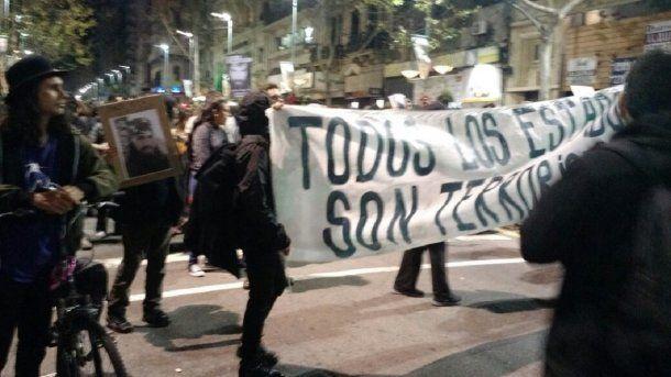 <p>Marcha por Maldonado en Montevideo – Crédito: Agustín Gutiérrez </p>