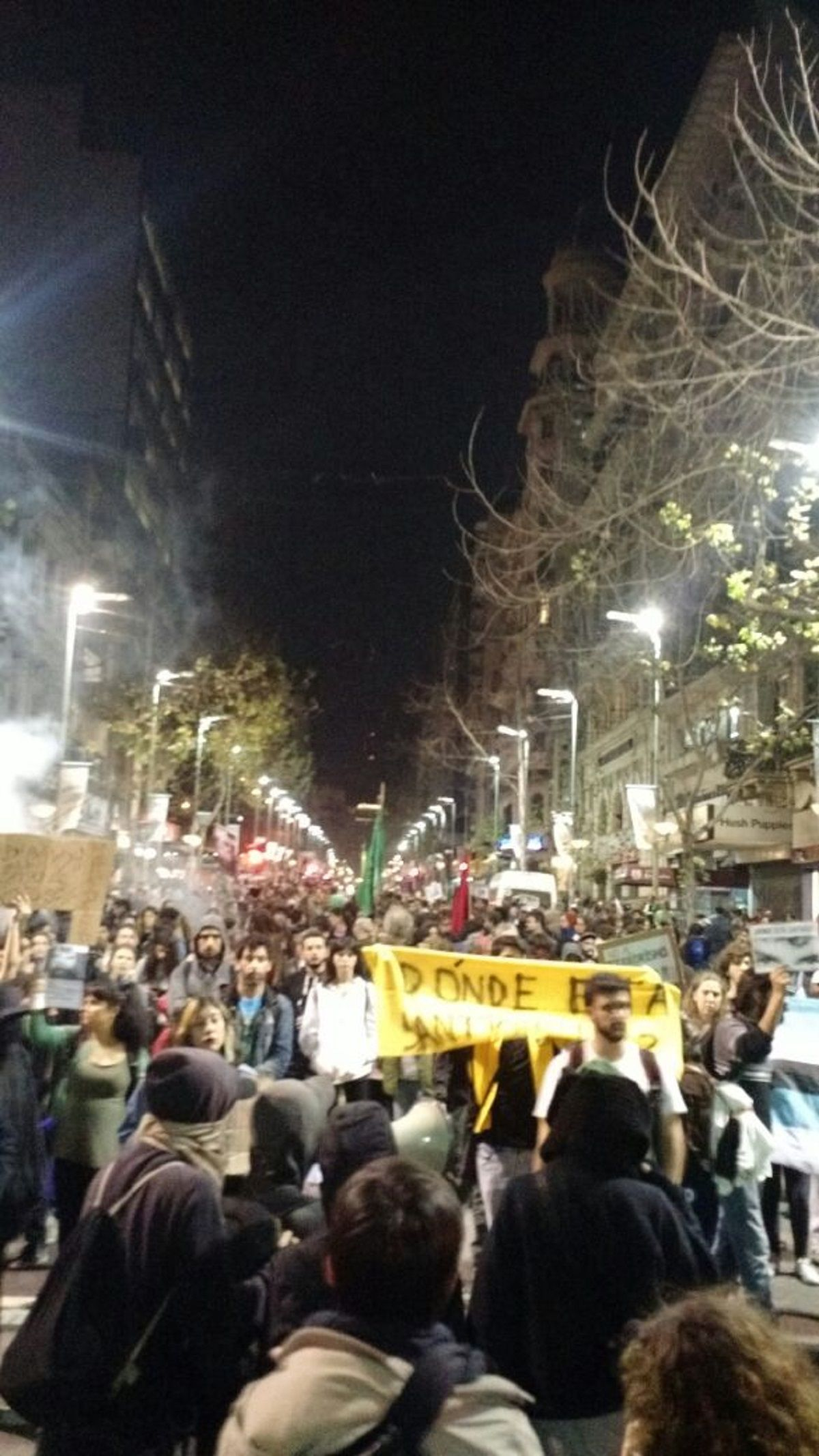 Marcha por Maldonado en Montevideo