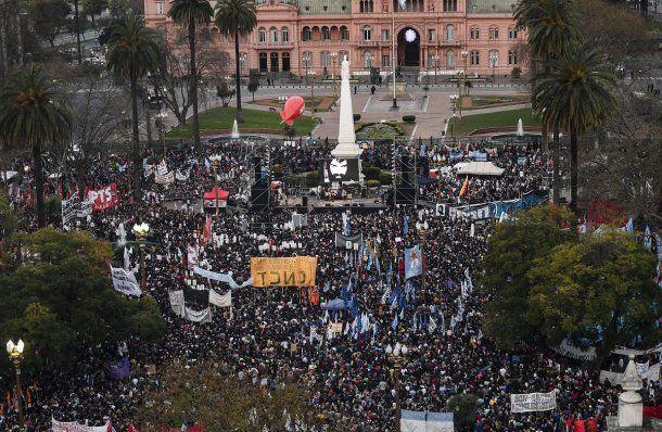 Marcha a Plaza de Mayo por Maldonado<br>