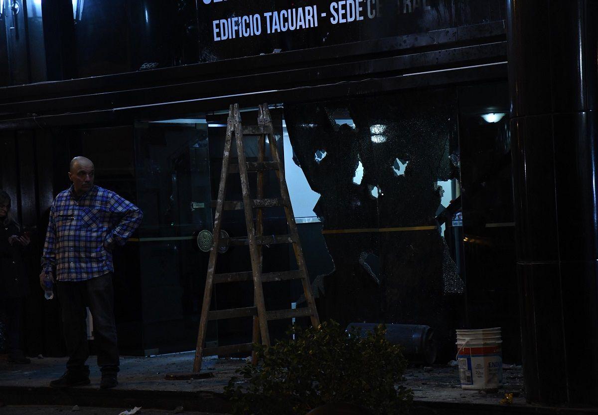 Atacaron a piedrazos una sede de la mutual de Gendarmería