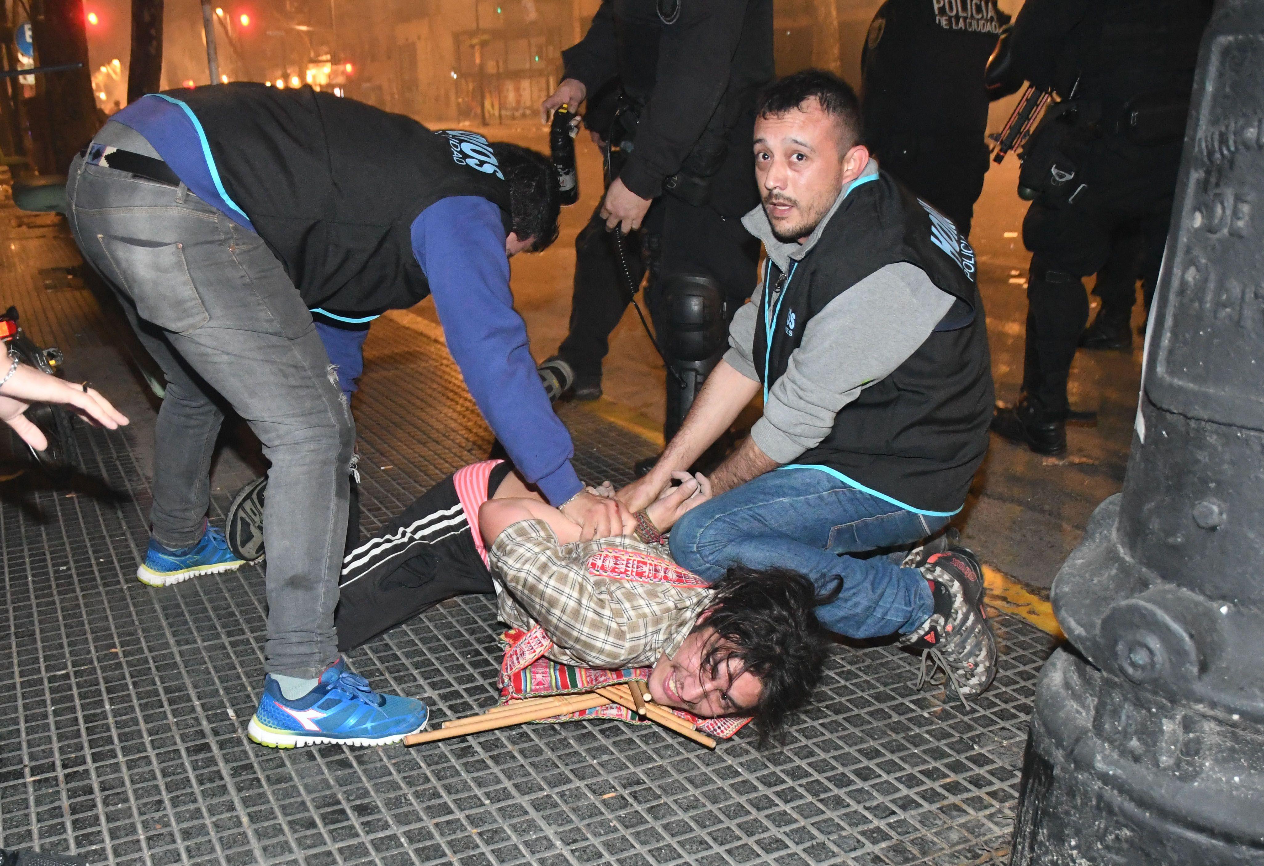 Santiago Maldonado: estos son los detenidos por los incidentes