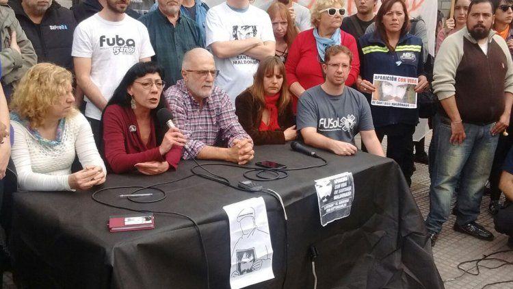 Conferencia de prensa María del Carmen Verdú