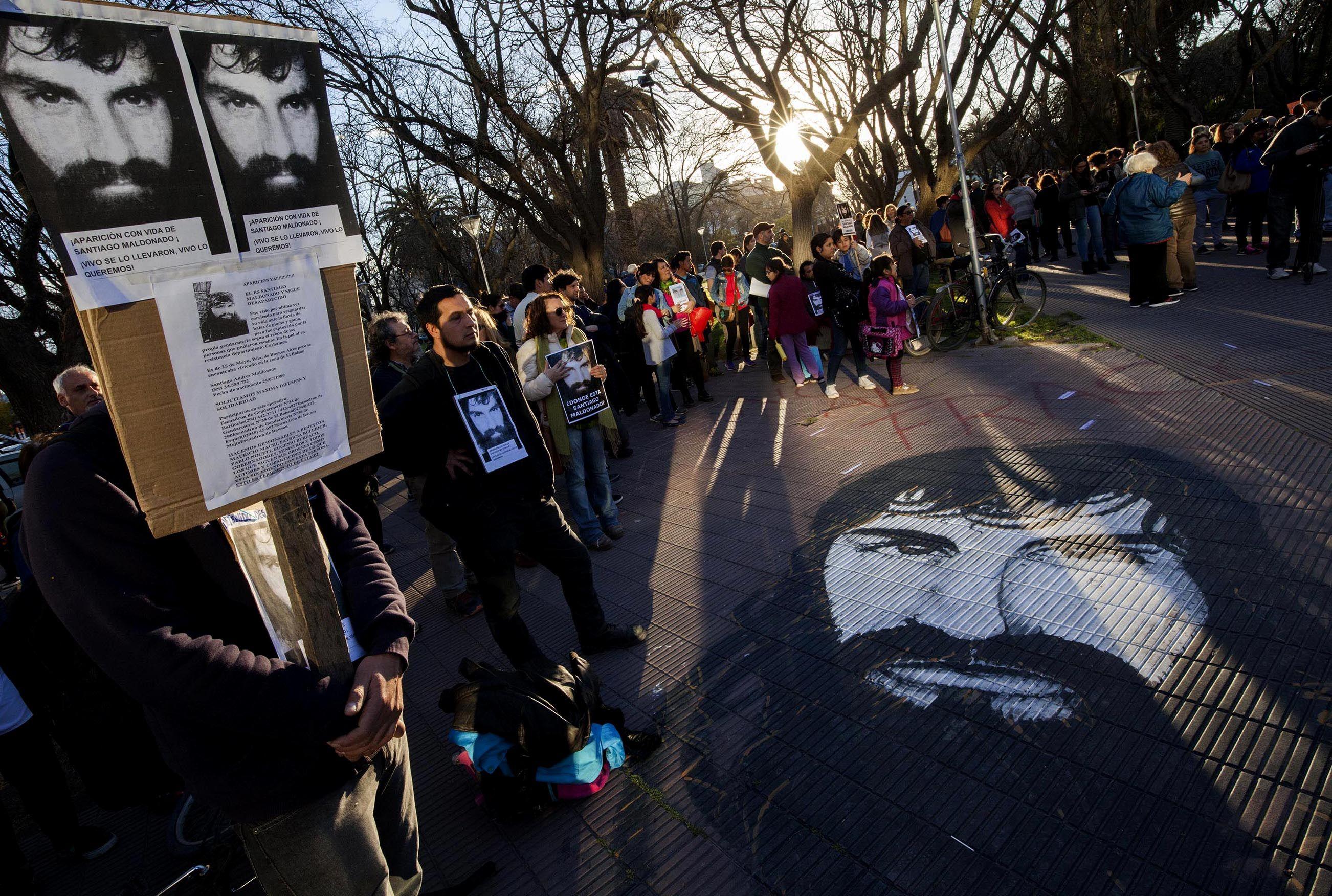 Santiago Maldonado permanece desaparecido desde el 1° de agosto