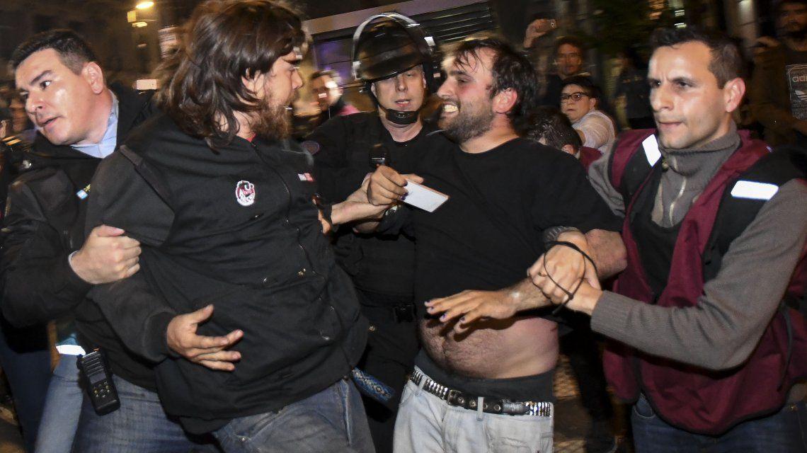 Indagaron a los detenidos de la marcha por Maldonado y se esperan excarcelaciones