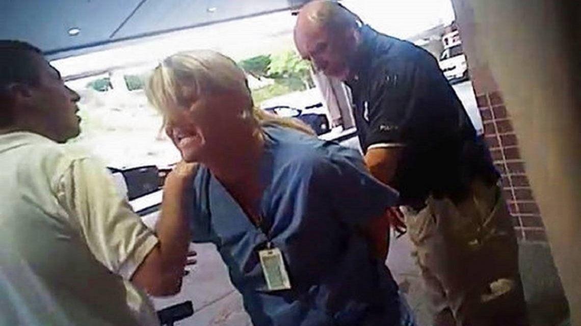 La Policía atacó a una enfermera que se negó a entregar sangre de un paciente