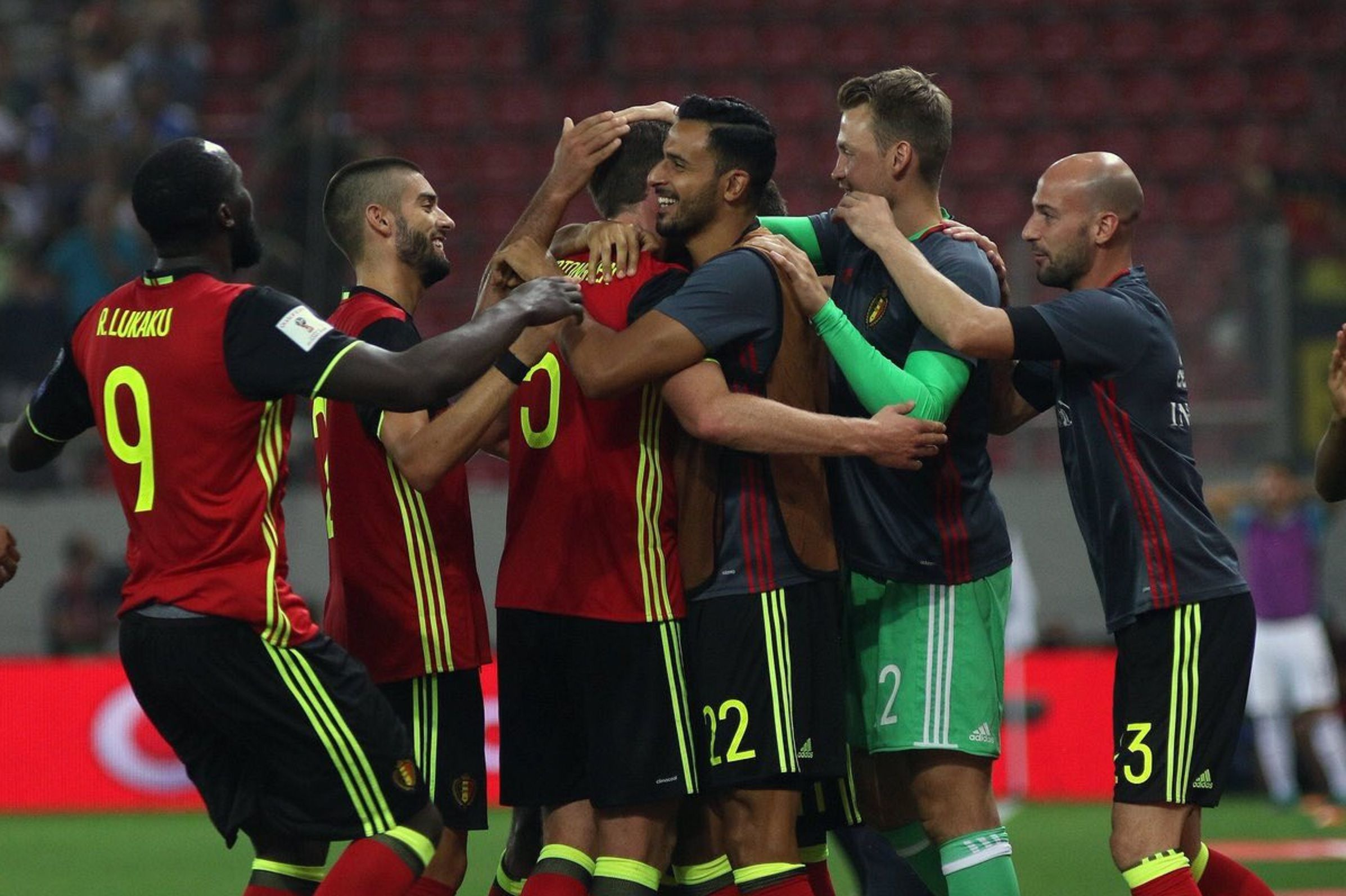 Bélgica es el sexto equipo en sacar pasaje a Rusia 2018