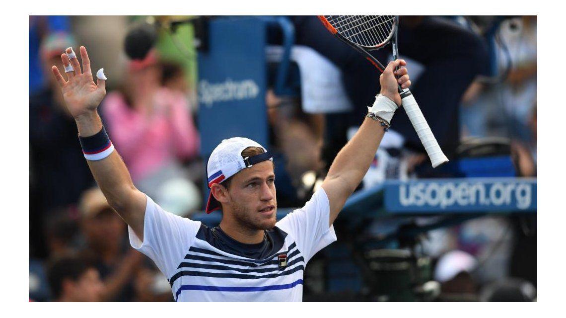 Diego Schwartzmanen el US Open - Crédito:   @usopen