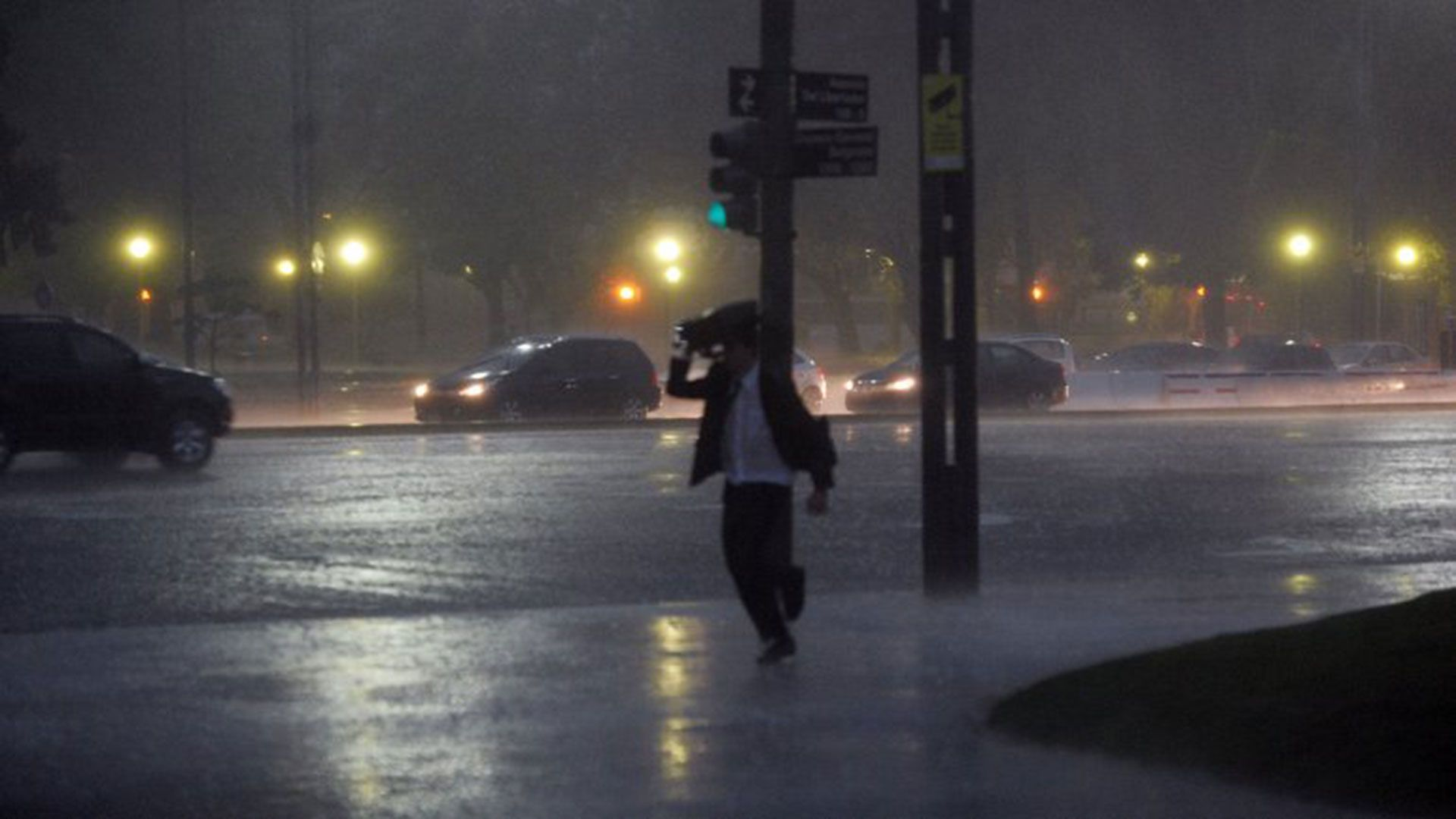 Anuncian lluvia en la Ciudad y el Conurbano