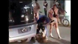 Un episodio de violencia se viralizó