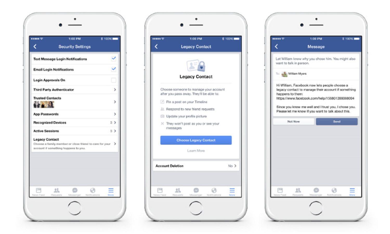 ¿Qué pasa con tu cuenta de Facebook si te morís?