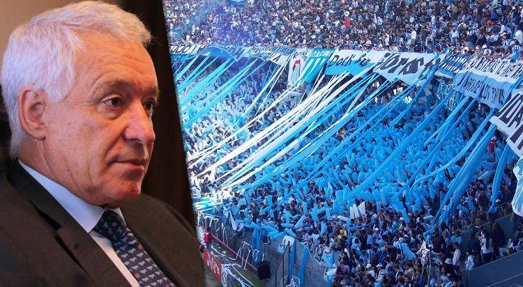 Víctor Blanco justificó el accionar de los barras con una frase insólita