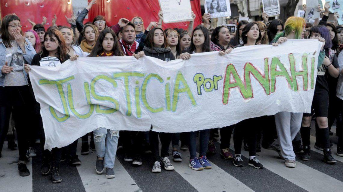 Marcha por Anahí Benítez