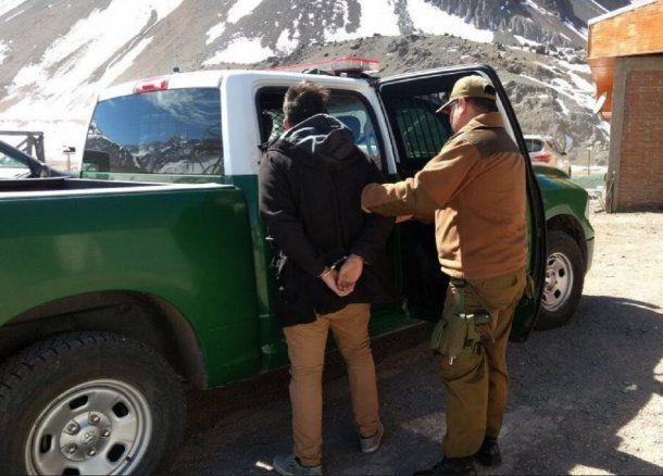 Argentino detenido por querer coimear a un policía en Chile - Crédito: LosAndesonline