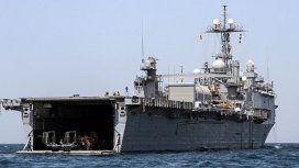 Tiene capacidad para transportar 800 tropas, seis helicópteros y 2.000 toneladas de equipamiento