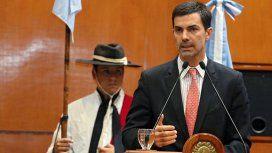 Juan Manuel Urtubey, gobernador de Salta