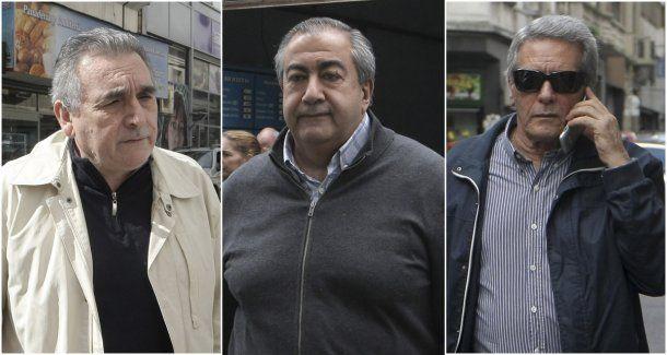 <p>Los tres lideres del triunvirato.</p>