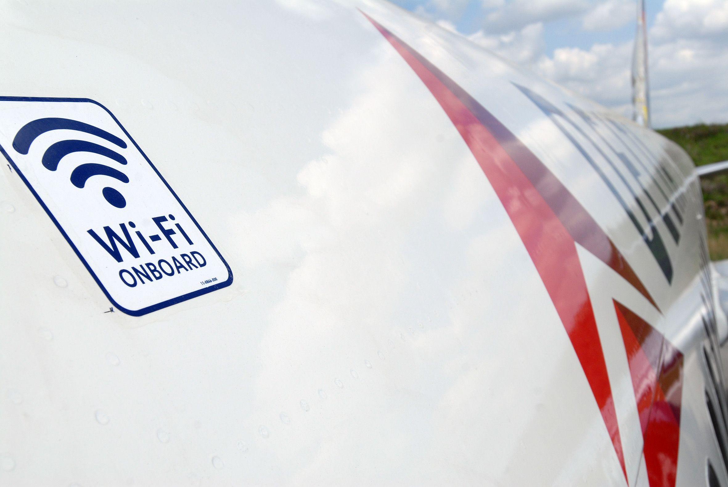 WIFI en el avión sólo en unas pocas líneas aéreas