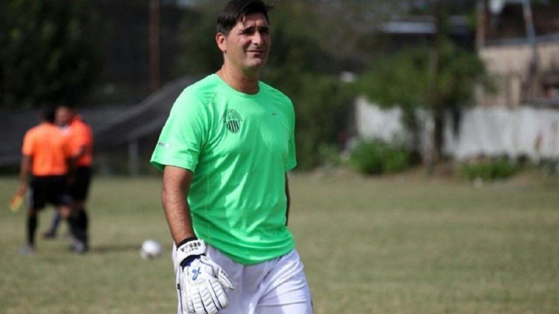 El Gato Sessa volvió al fútbol: se fue a un bautismo en el entretiempo