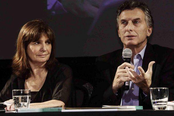 Patricia Bullrich y Mauricio Macri<br>
