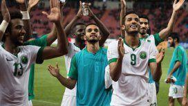 Arabia Saudita, clasificado al Mundial de Rusia 2018