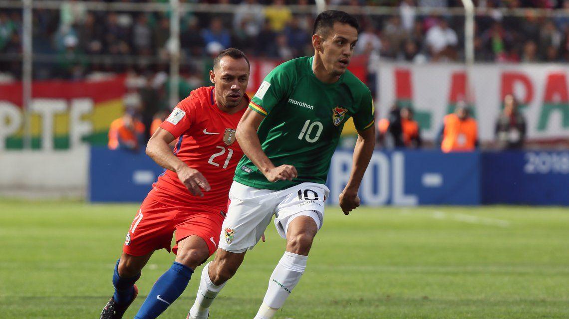 Rusia 2018: Chile la pasó mal en la altura y perdió ante Bolivia