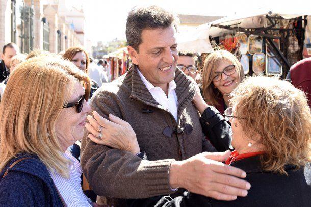 Sergio Massa, candidato a senador<br>