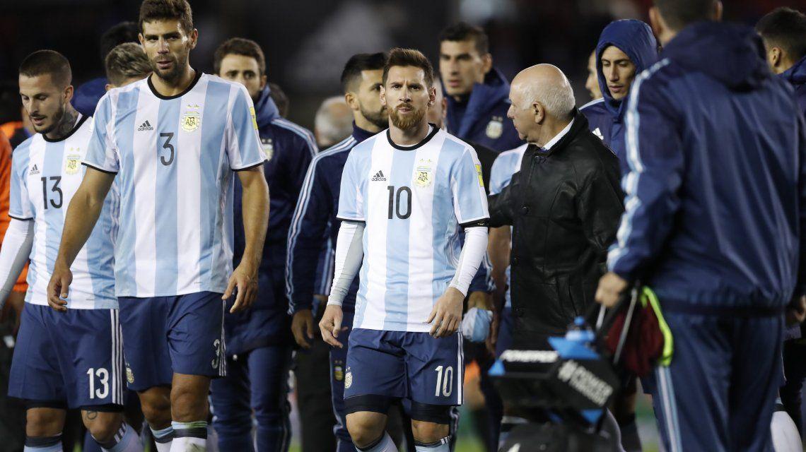 Así quedó Argentina en la tabla a dos fechas del final de las Eliminatorias