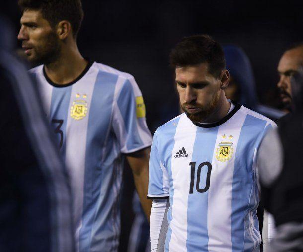 La frustración de Messi<br>