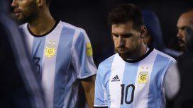 La frustración de Messi