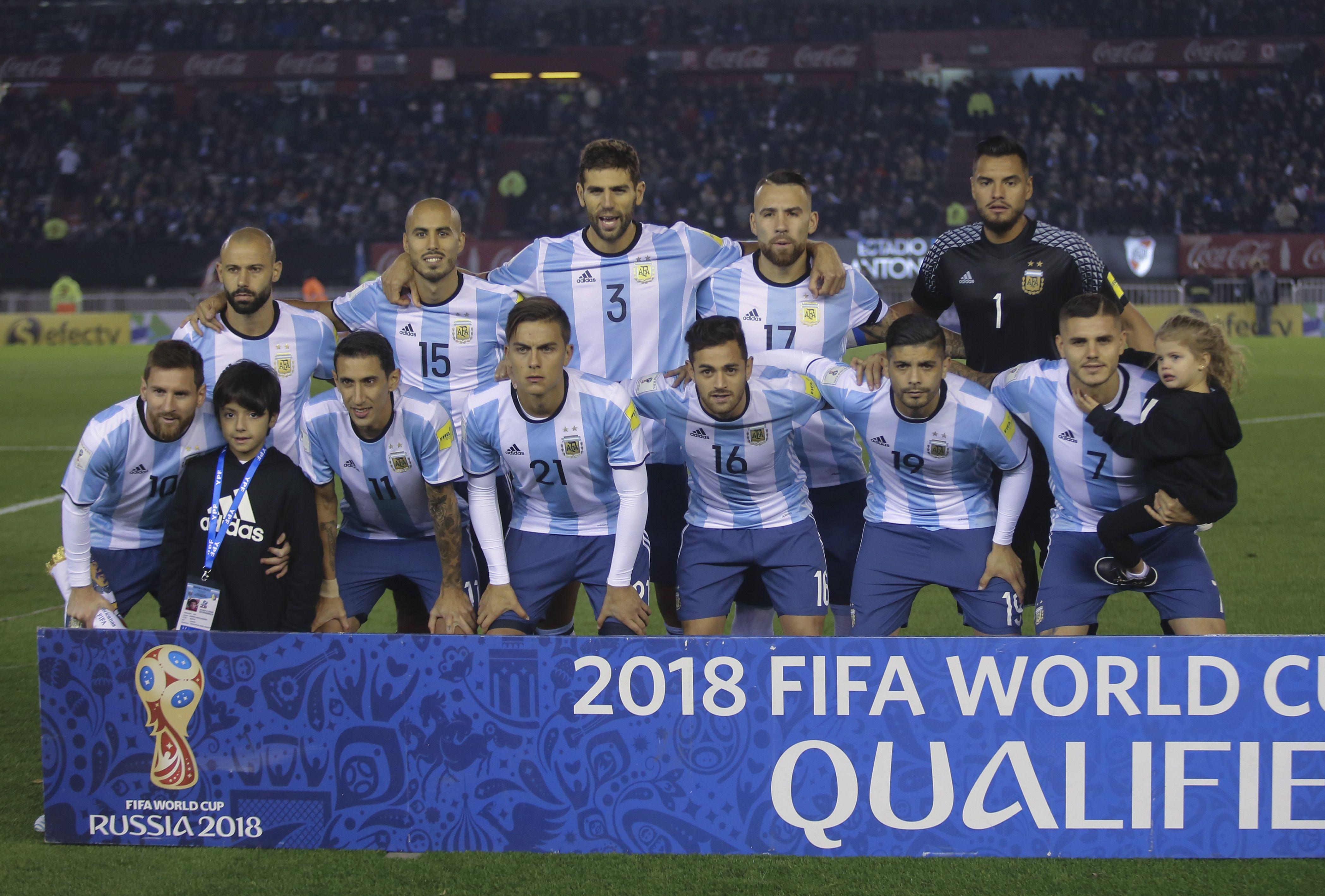 Así formaba Argentina para enfrentar a Venezuela