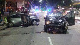 Así quedó el auto de Tomás Núñez Aboy tras chocar y matar a una docente