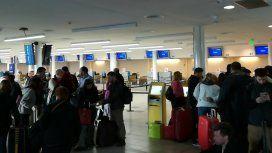 Protesta en Aeroparque:  prometen que no habrá demoras ni cancelaciones de los vuelos