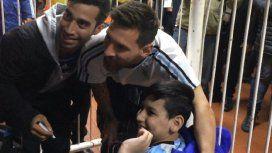 El fútbol en segundo plano: Messi y Franco
