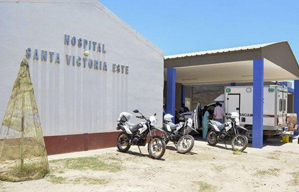 De Santa María al Hospital de Santa Victoria Este habrían 8 minutos de viaje en auto