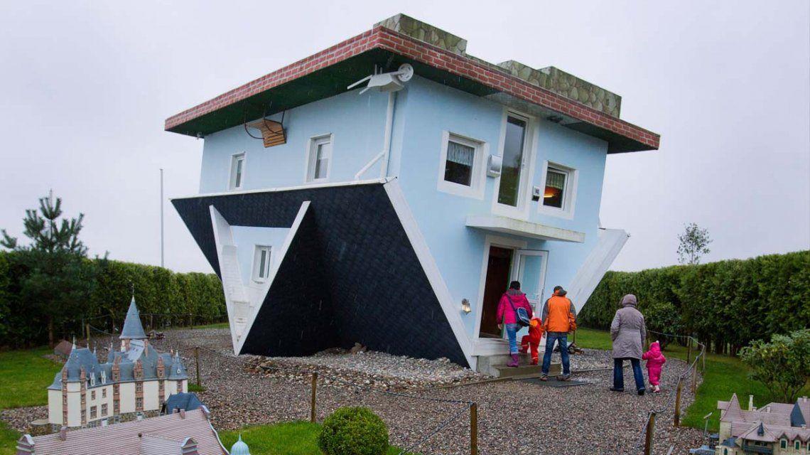 Las cinco mejores casas invertidas del mundo