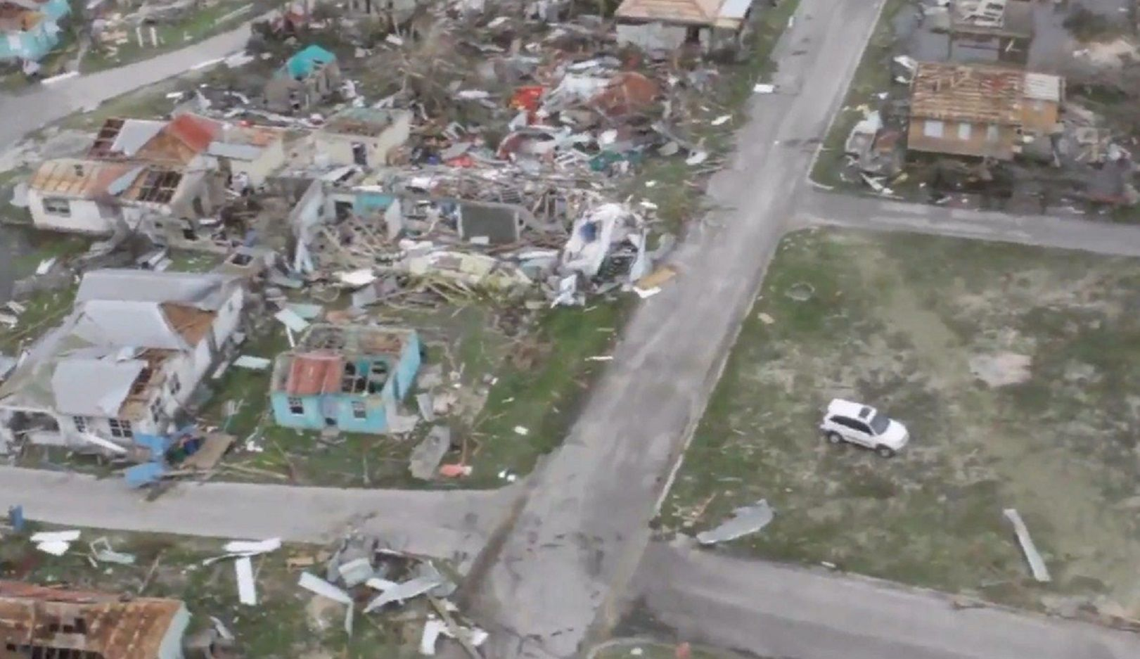 El huracán Irma destruyó el 90% de la isla de Barbuda