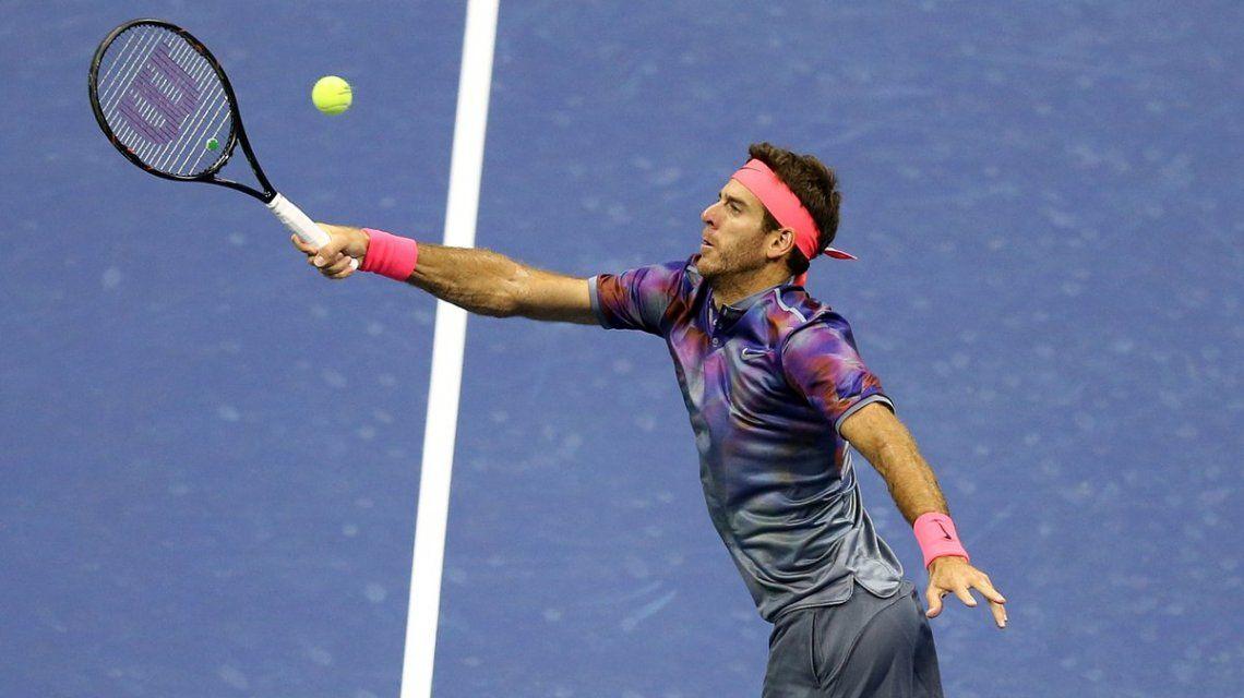 Juan Martín del Potro derrotó a Roger Federer