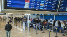 El lunes tampoco habrá vuelos: aeronáuticos se suman al paro general de la CGT