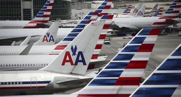 American Airlines canceló sus vuelos hasta el domingo