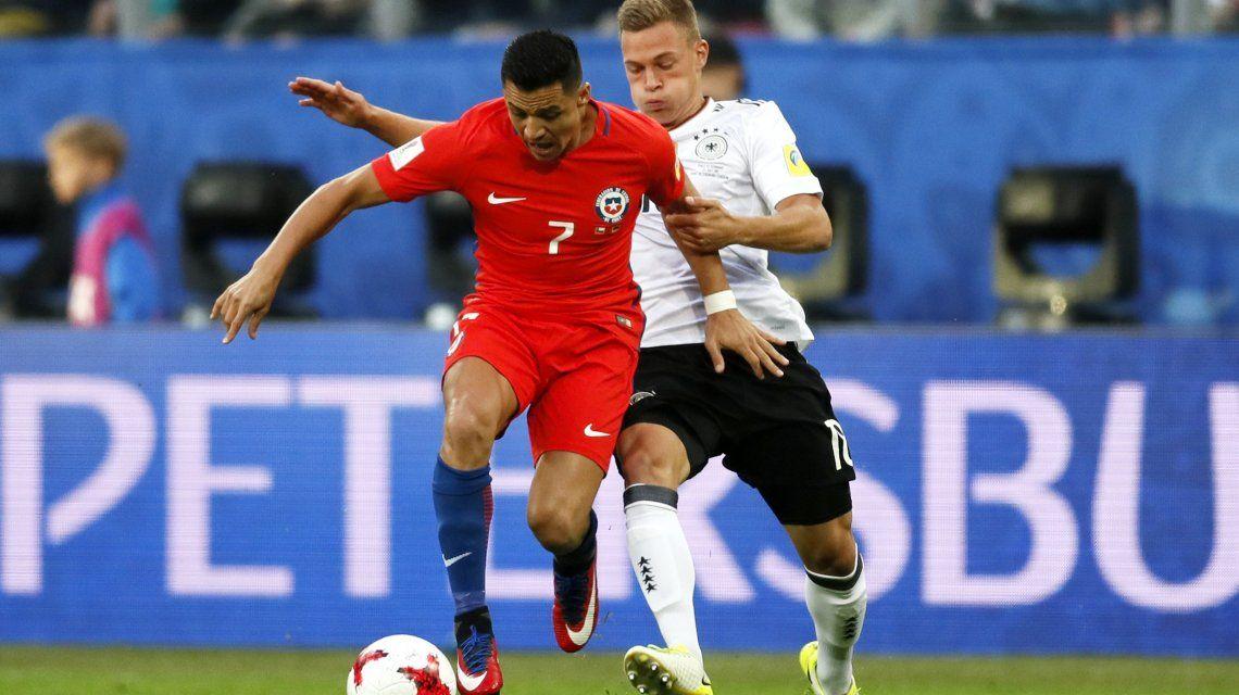 No hay con qué darle: la Alemania B venció a Chile y ganó la Copa Confederaciones