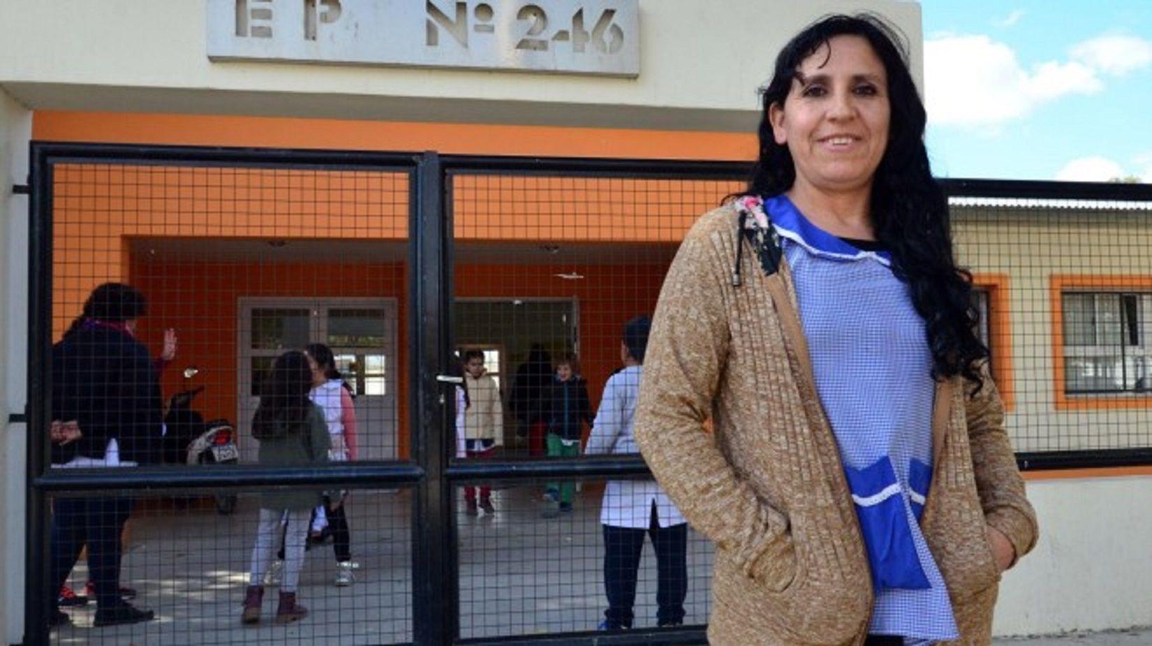 Norma Zapata. Gentileza diario Río Negro