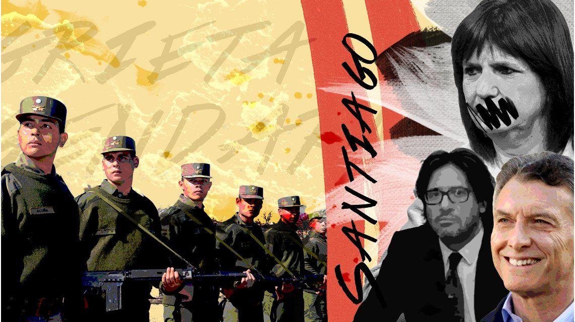 La grieta del Gobierno por el rol de la Gendarmería en la desaparición de Santiago
