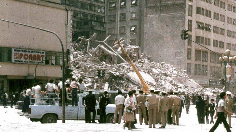 Imágenes del terremoto de 1985 que devastó el DF