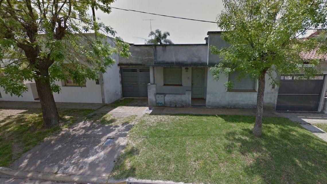 La casa que fue asaltada