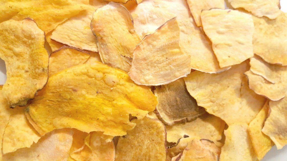 Green Chips: batatas y papas fritas casi sin aceite